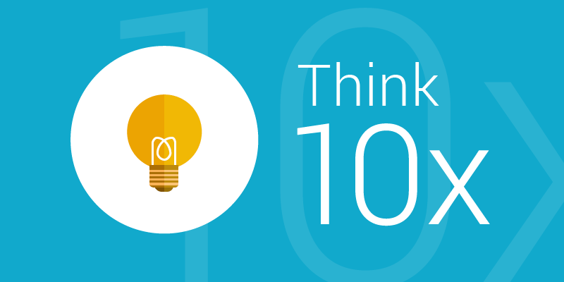 Innovation think 10x