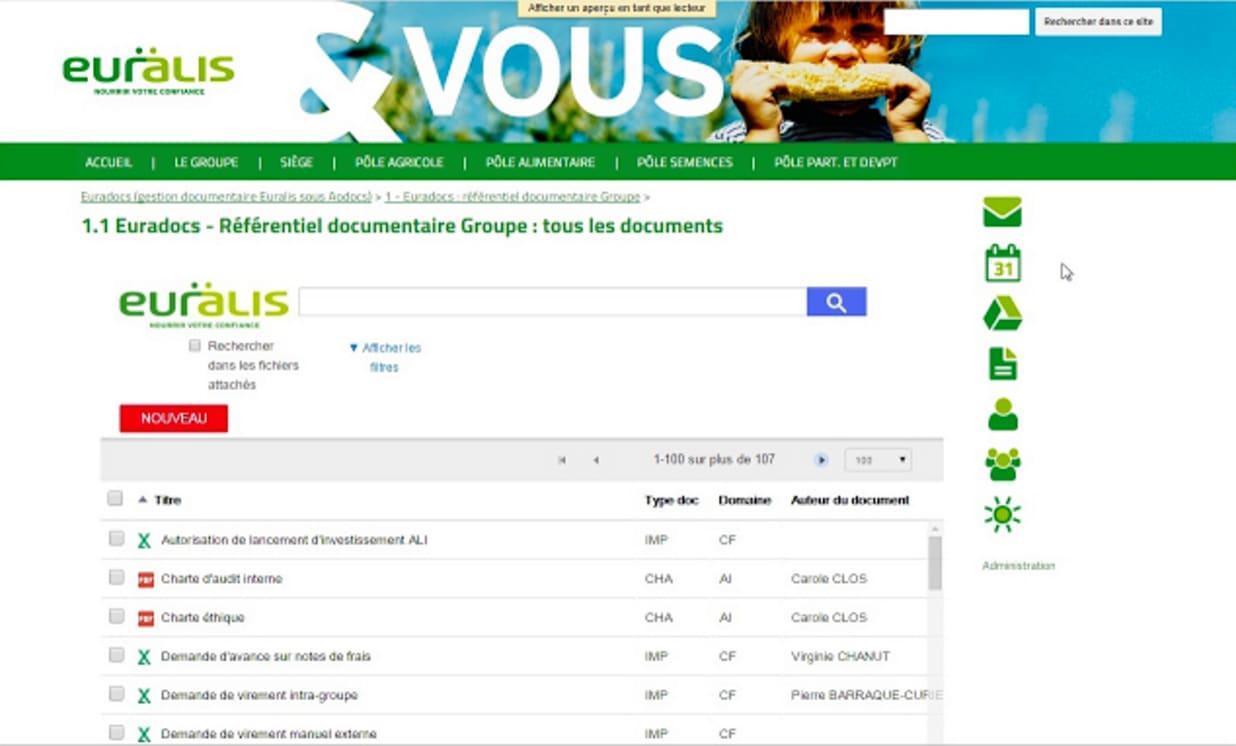 Euralis-content-management-solution