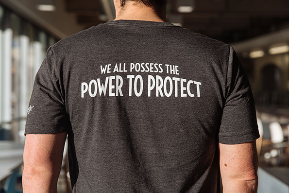 We all posses the power to protect t-shirt