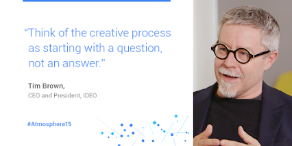 Quote card image of Tim Brown, CEO of IDEO